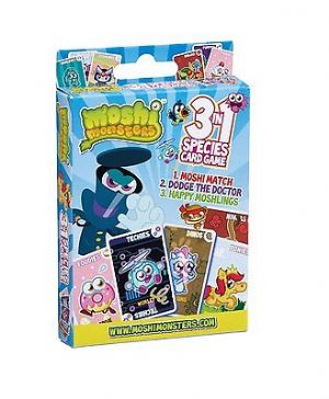 Moshi Monsters 3in1 Species Card Game